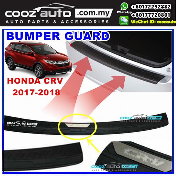 Honda CRV 2017 2018 ABS Rear Bumper Guard Protector