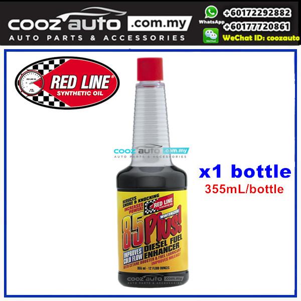 Red Line 85 Plus Diesel Enhancer Fuel Additive 355ml (1 Bottle)