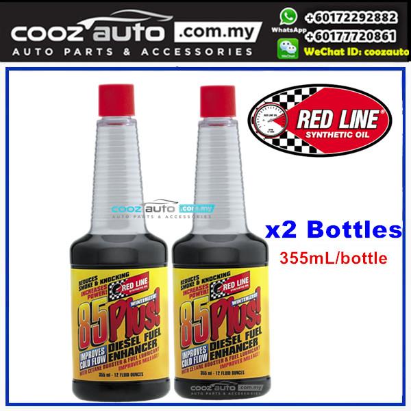 Red Line 85 Plus Diesel Enhancer Fuel Additive 355ml (2 Bottles)