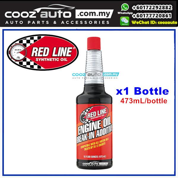 RED LINE ENGINE OIL BREAK IN ADDITIVE 473ml (1 Bottle)