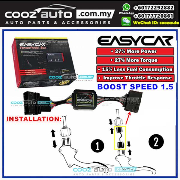 PROTON SUPRIMA S EASYCAR Boost Speed 1.5 Power Pedal Box Throttle Controller