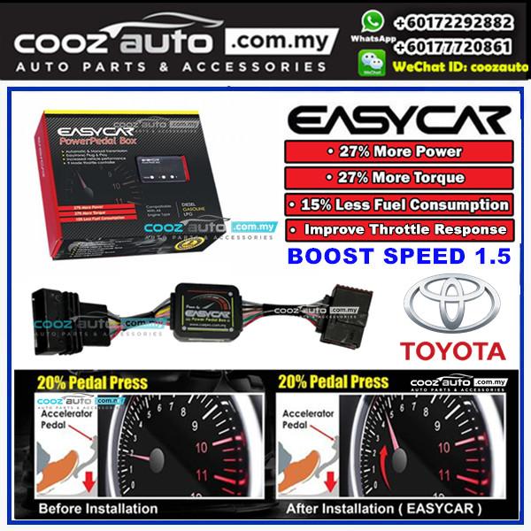Toyota Land Cruiser FJ200 2009-16 Boost Speed 1.5 Pedal Box Throttle Controller