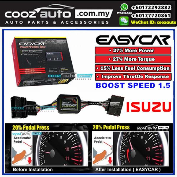 Isuzu Dmax 2012 - 2016 Boost Speed 1.5 Power Pedal Box Throttle Controller