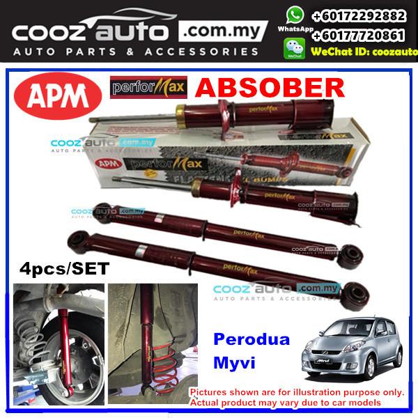 Perodua Myvi 2008 - 2011 1.0 / 1.3 APM Performax Sport Absorber Suspension