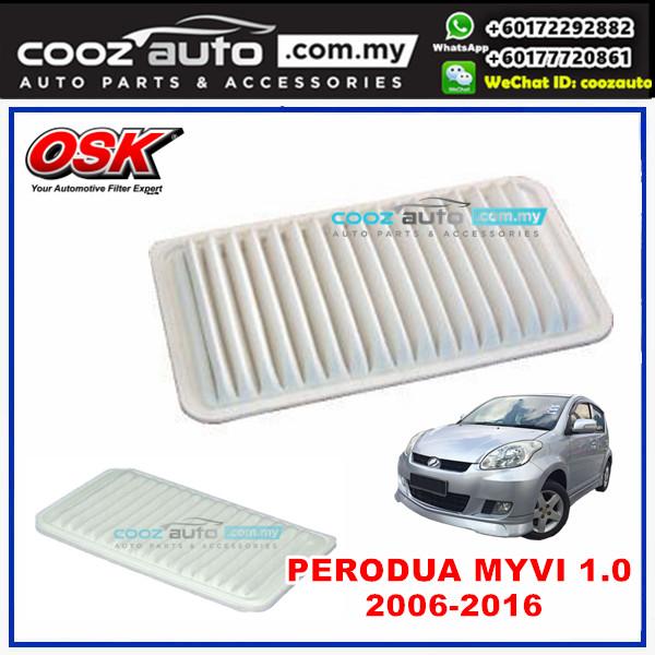 Perodua Myvi Viva 1.0 OSK Replacement Air Filter