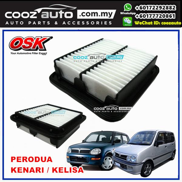 Perodua Kelisa 1.0 OSK Replacement Air Filter