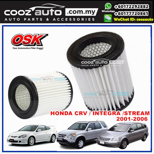 Honda Integra DC5 2.0 Type R 2001 - 2005 OSK Replacement Air Filter (Round Type)