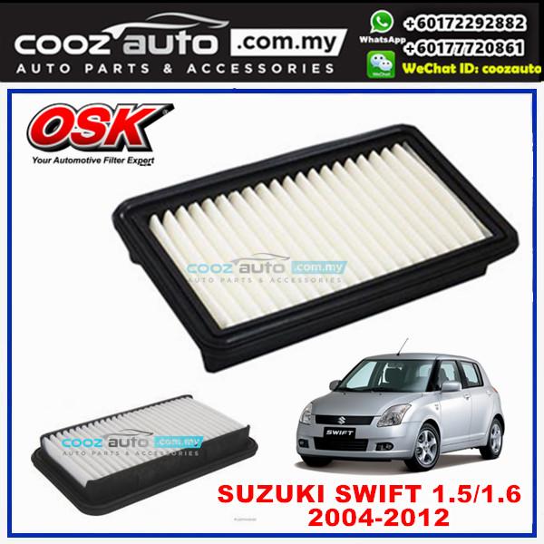 Suzuki Swift 1.5 1.6 2004 - 2012 OSK Replacement Air Filter
