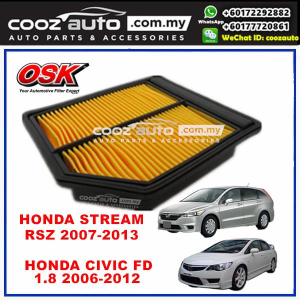 Honda Civic FD 1.8 2006 - 2012 OSK Replacement Air Filter