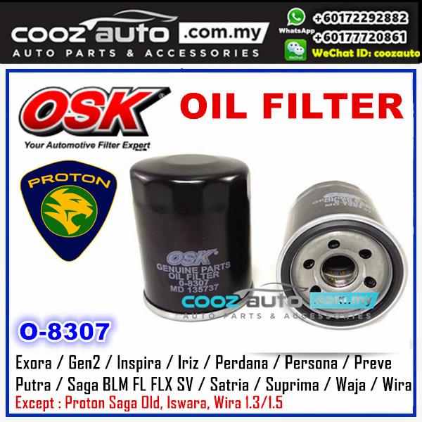 OSK Proton Preve CFE Turbo 2012 - 2018 Oil Filter