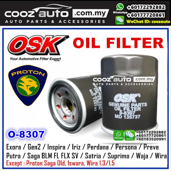 OSK Proton Saga BLM FL FLX SV 2008 - 2016 Oil Filter