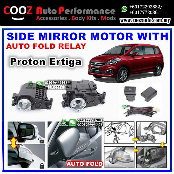 Proton Ertiga EF Side Mirror Autofold Motor Powerfold Actuator with Auto Fold Folding Relay