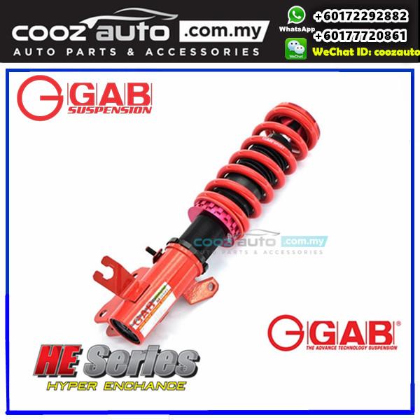 Honda Accord CP2 2008 - 2012 GAB HE Series Height High Low Adjustable Suspension