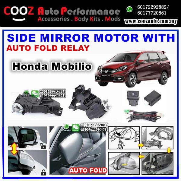 Honda Mobilio Ef Side Mirror Autofold Motor Powerfold Actuator With