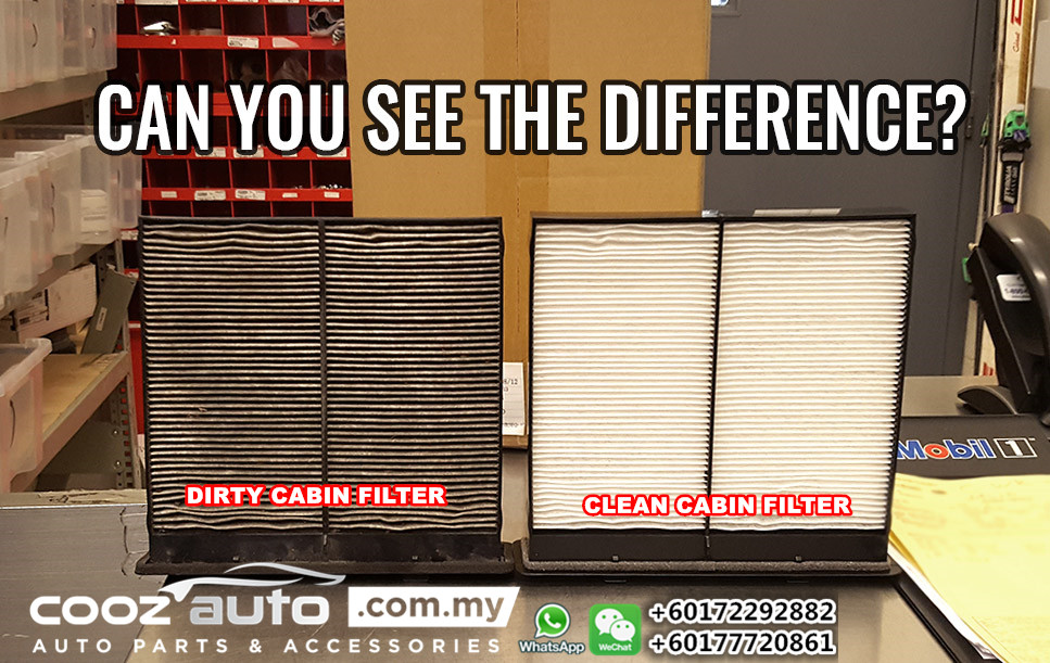 Perodua Myvi Lagi Best Icon 2011 - 2018 OSK Cabin Aircond Replacement Filter