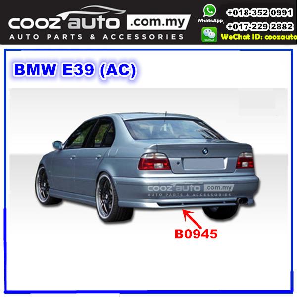 BMW 5 Series E39 Rear Skirt ( AC ) ( B0945 ) FIBRE
