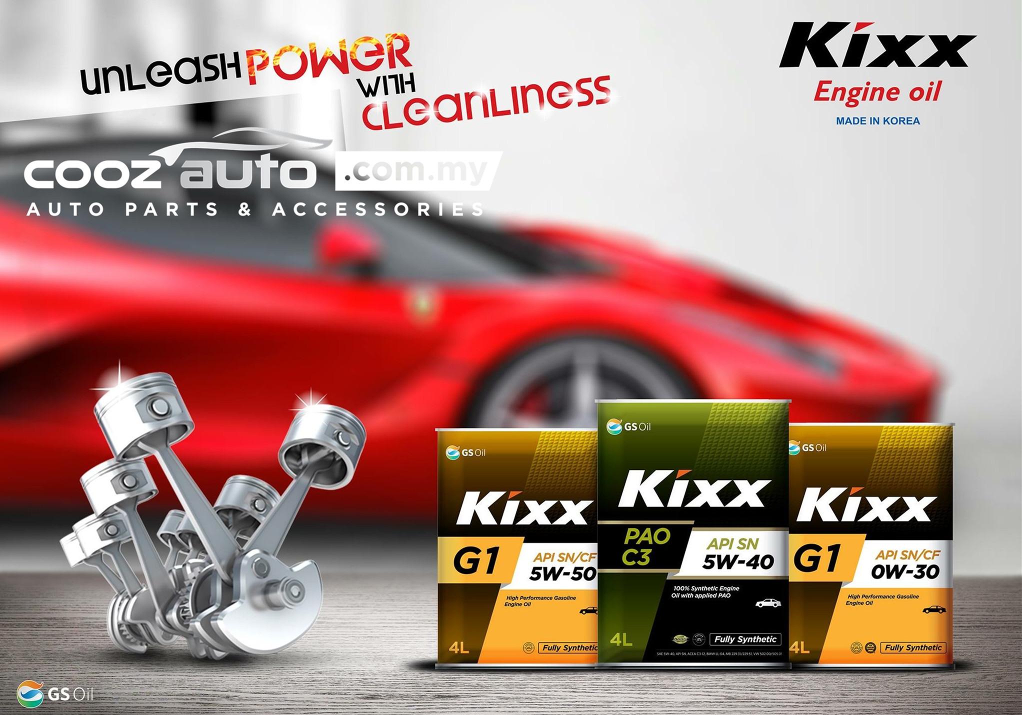 Kixx G1 10W40 Semi Synthetic Engine Oil Proton Perdana Persona Preve Putra (4L)