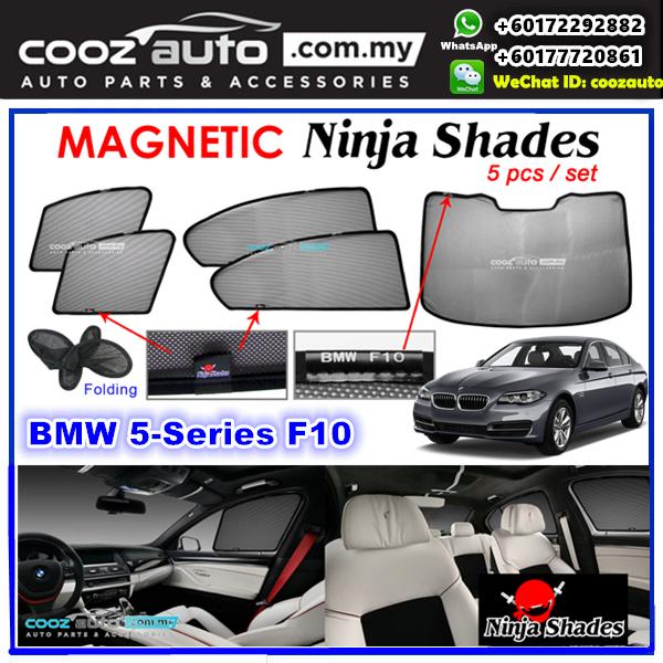 Bmw 5 Series Magnetic Ninja Sun Shade Sunshade