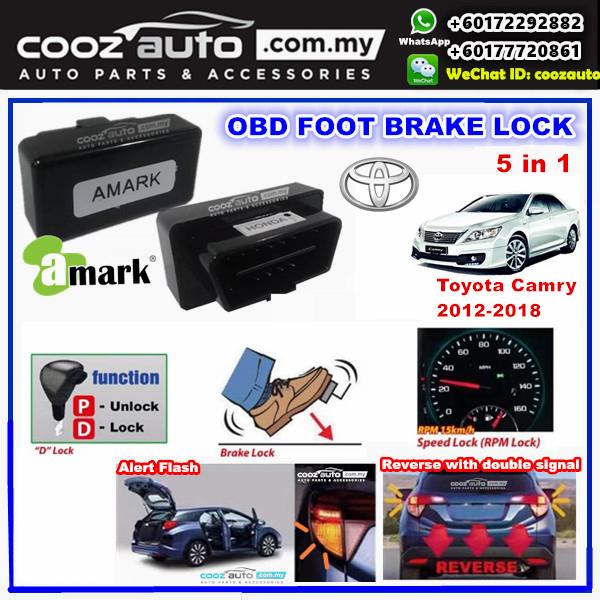 Toyota Camry 2012-2018 5 IN 1 A-MARK OBD FOOT BRAKE AUTO DOOR SPEED