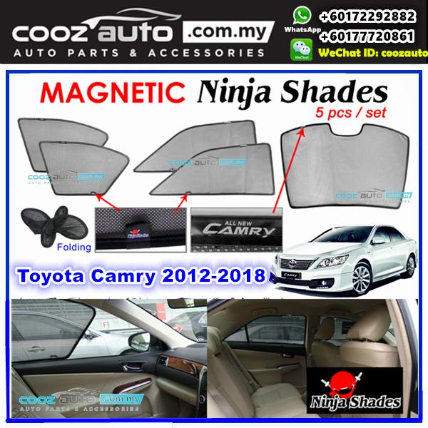 Toyota Camry XV50 2012 - 2018 Magnetic Ninja Sun Shade Sunshade 98617e5057d