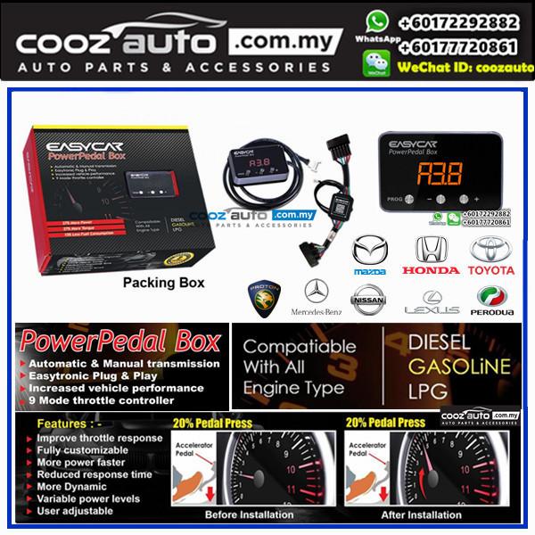Mazda 2 2014 - 2018 EASYCAR Power Pedal Box Electronic Throttle Controller