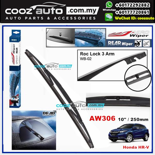 """Honda HR-V HRV AERO Rear Windscreen Wiper Blade 10"""" (250mm)"""
