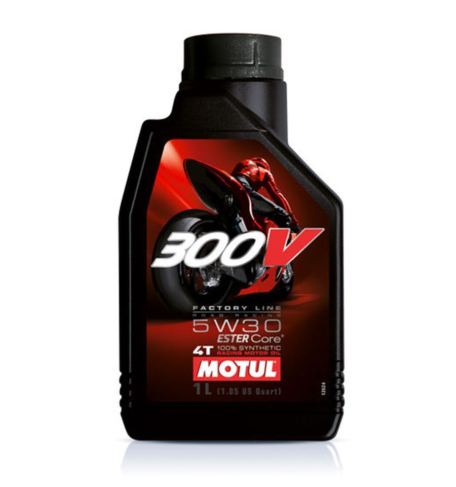 MOTUL 300V 4T FACTORY LINE ROAD RACING 5W30 (1L) 4-Stroke engine Ester Core