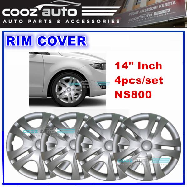 14'' Inch Wheel Rim Cover Cap Universal - 4pcs/set
