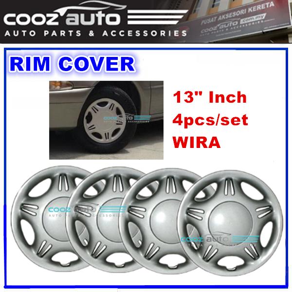 13\'\' Inch Wheel Rim Cover Cap WIRA Universal - 4pcs/set