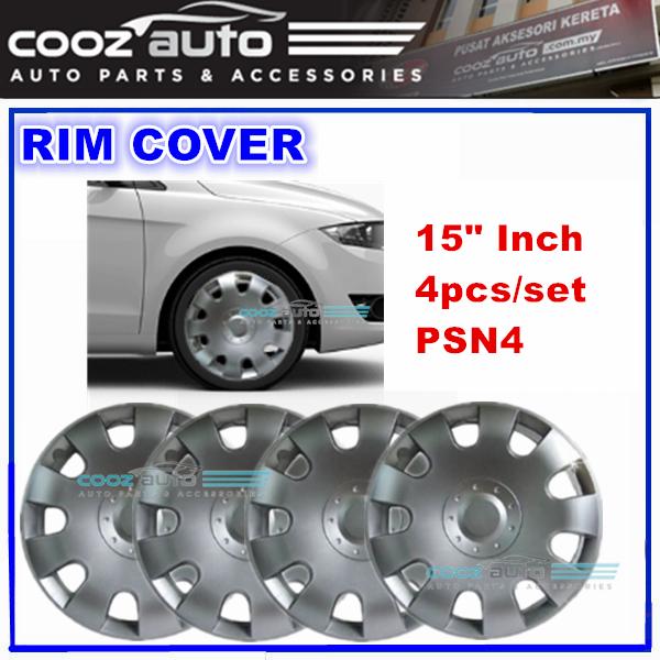15\'\' Inch Wheel Rim Cover Cap PSN4 Universal - 4pcs/set