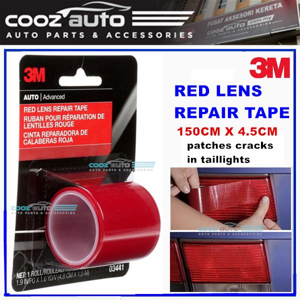 3M Red Lens Repair Tape 150cm x 4.5cm