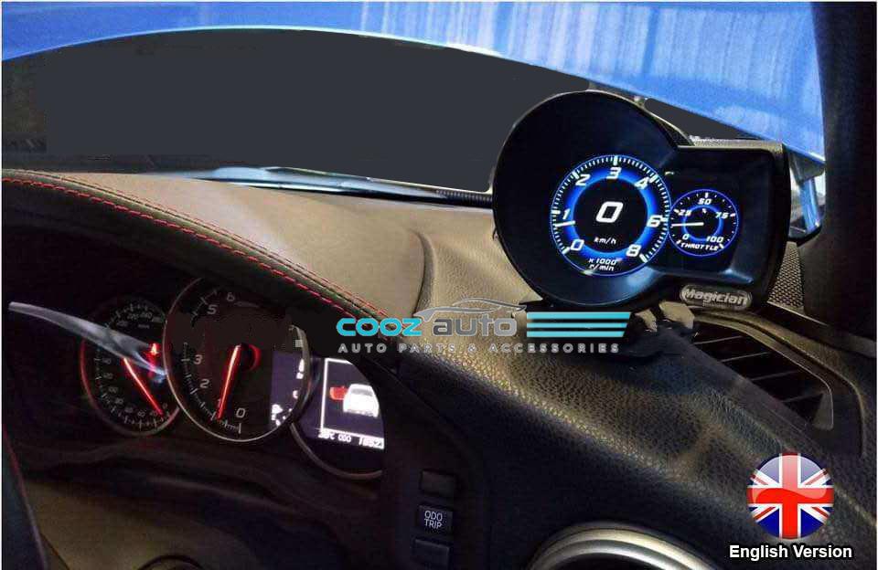 Toyota Alphard Vellfire ANH 20 30 2009 - 2019 OBD 2 Multi Function Meter Water