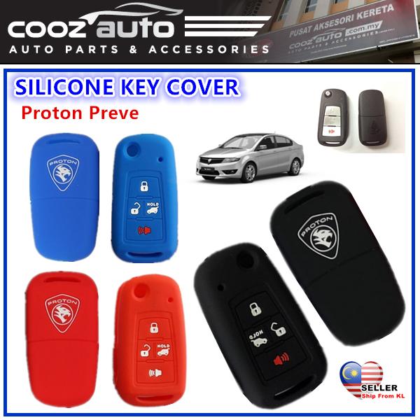 [Malaysia] Proton Preve Silicone Car Keyless Remote Silicone Key Cover Case