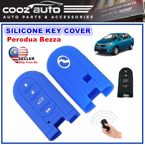 [Malaysia] Perodua Bezza Silicone Car Keyless Remote Silicone Key Cover Case