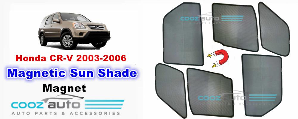 Honda CR-V 2003-2006 Magnetic Sun Shade Sunshade