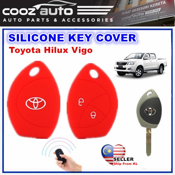 [Malaysia] Toyota Hilux Vigo Silicone Car Keyless Remote Silicone Key Cover Case