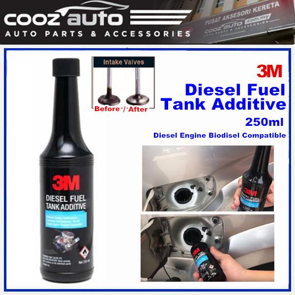 3M Diesel Fuel Tank Additive Fuel Treatment Injector Cleaner Intake Valve Cleaner (1 Bottle)