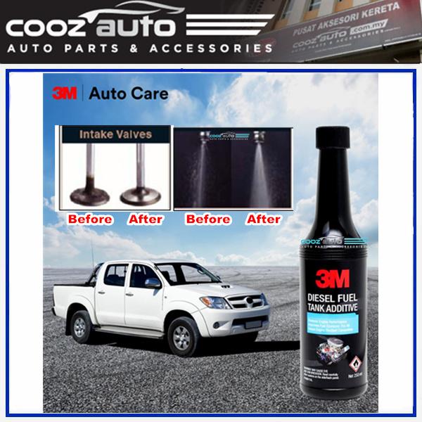 3M Diesel Fuel Tank Additive Fuel Treatment Injector Cleaner Intake Valve Cleaner (3 Bottles)