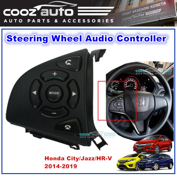 Honda HR-V City Jazz 2014 - 2019 Steering Audio Radio Switch Button Control Controller