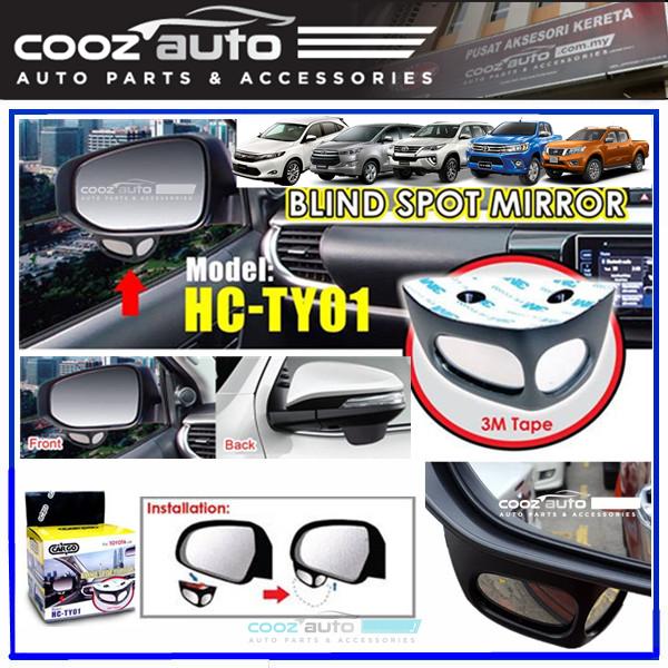 Toyota Hilux Fortuner Harrier Innova Nissan Navara Parking Blind Spot Detection Add On Passenger Side Mirror