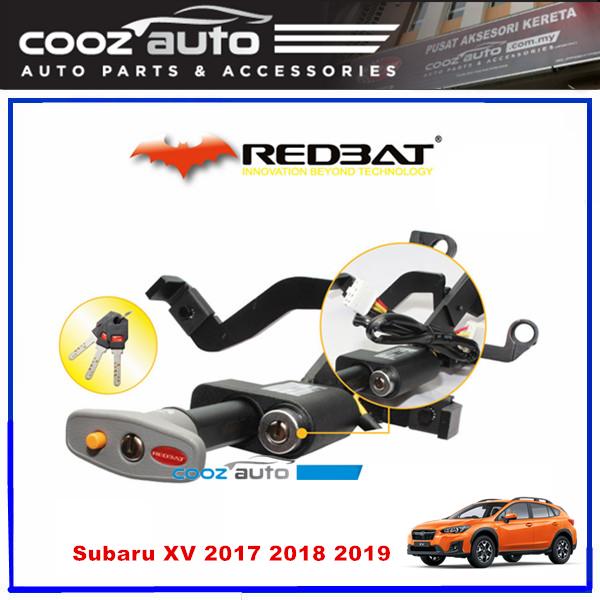 Subaru XV 2017 - 2019 Redbat Double Brake Pedal Lock with Socket Immobilizer Anti Theft