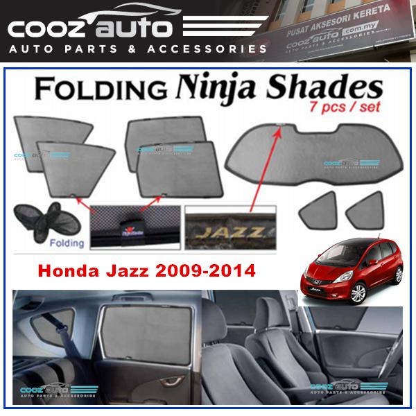 Honda Jazz 2009 - 2014 Magnetic Ninja Sun Shade Sunshade