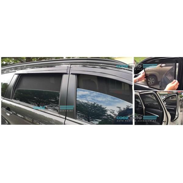 Honda Civic 2016-2018 Magnetic Sun Shade Magnet Sunshade