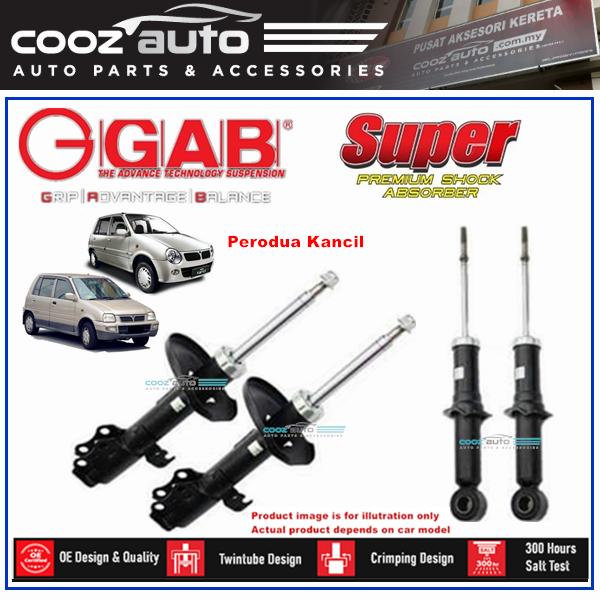 Perodua Kancil GAB Super Premium Shock Absorber Suspension