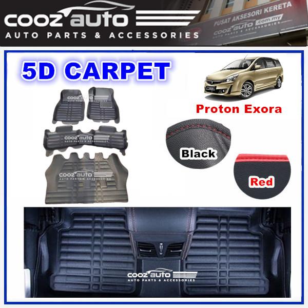 PROTON EXORA 5D FLOOR MAT CARPET CAR FLOOR MAT