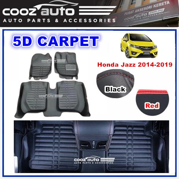 HONDA JAZZ 2014-2019 5D FLOOR MAT CARPET CAR FLOOR MAT