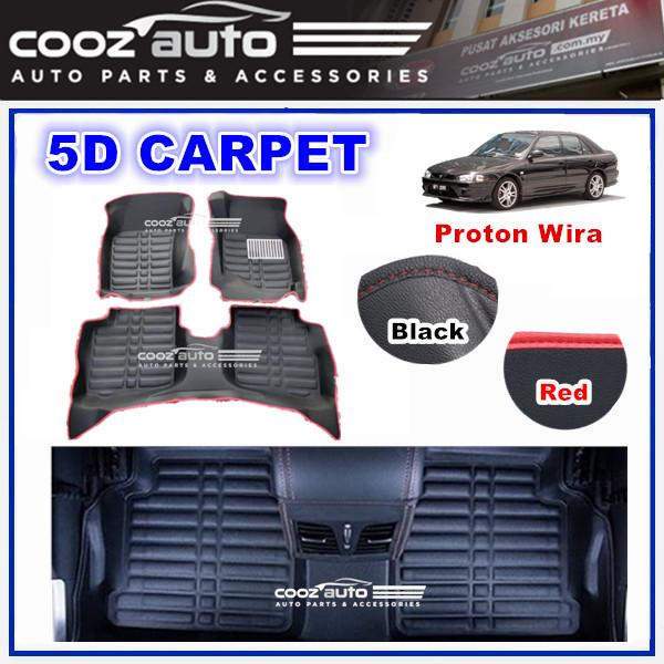 PROTON WIRA 5D FLOOR MAT CARPET CAR FLOOR MAT