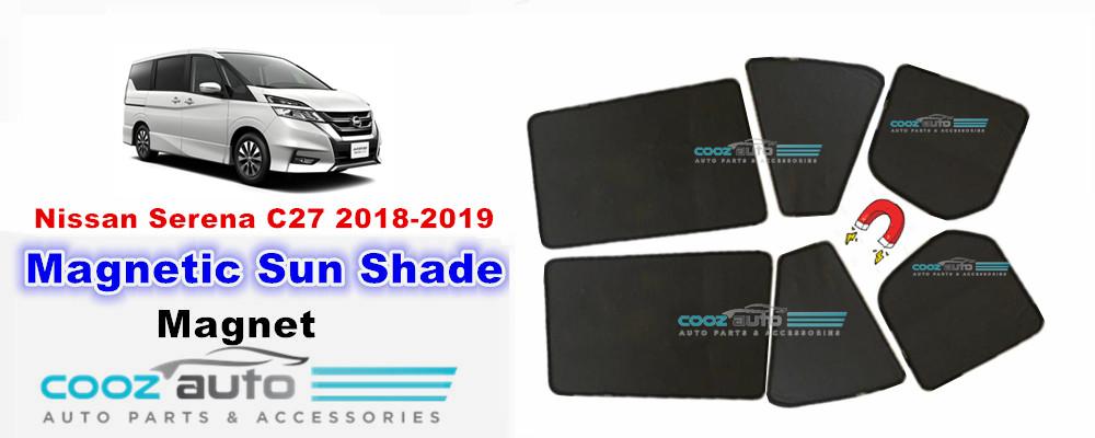 Nissan Serena C27 2018-2019 Magnetic Sun Shade Magnet Sunshade