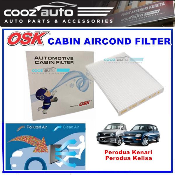 Perodua Kenari Kelisa OSK Cabin Aircond Filter