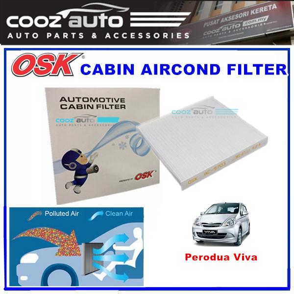 Perodua Viva OSK Cabin Aircond Filter